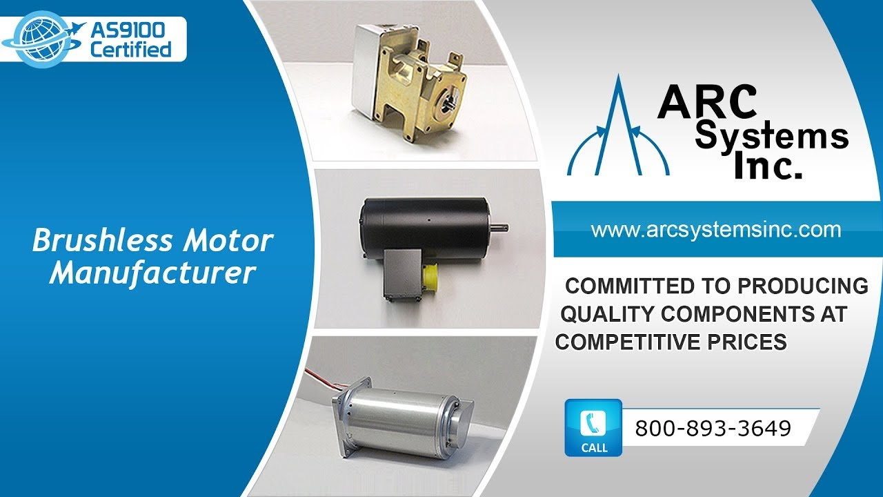 Brushless DC Motors | ARC Systems Inc