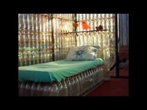 видео: Диваны и кресла - мебель из пластиковых бутылок своими руками. Поделки для дома и дачи