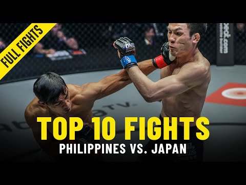 Top 10 Philippines vs. Japan Fights In ONE Championship