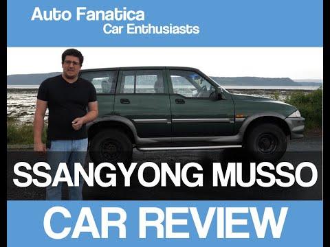 SSANGYONG MUSSO | REVIEW 2019 | (2001) | 4X4 DAEWOO MERCEDES | Auto Fanatica