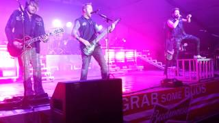 Hinder concert Jackson Mississippi October 6 2014