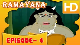 Ramayan Short Story For Kids |  Ramayan in Hindi | Animated Cartoon Story For Kids Ep 4 | Kahaniyaan