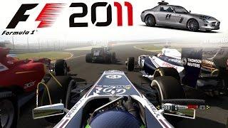 F1 2011 Career Mode Part 4: MASSIVE GLITCH