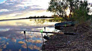 Рыбалка с ночёвкой КАРП на ФЛЭТ ФИДЕР