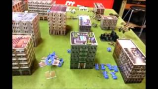 dropzone commander battle report 1 3 player recon 1500 points