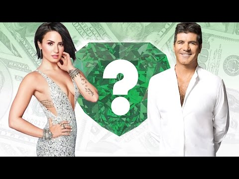 WHO'S RICHER? - Demi Lovato or Simon Cowell? - Net Worth Revealed!
