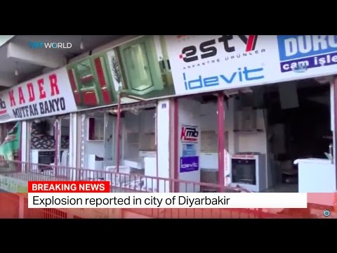 Breaking News: Explosion in Turkish city of Diyarbakir
