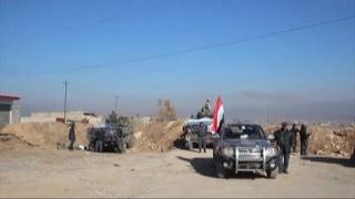 أخبار عربية - أخبار الآن ترافق الجيش العراقي خلال تطهير منطقة البوسيف