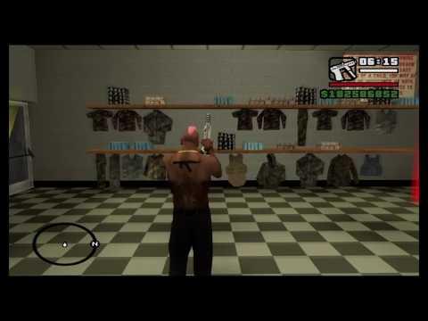 GTA San Andreas Unlimited Minigun Glitch!   FunnyCat TV