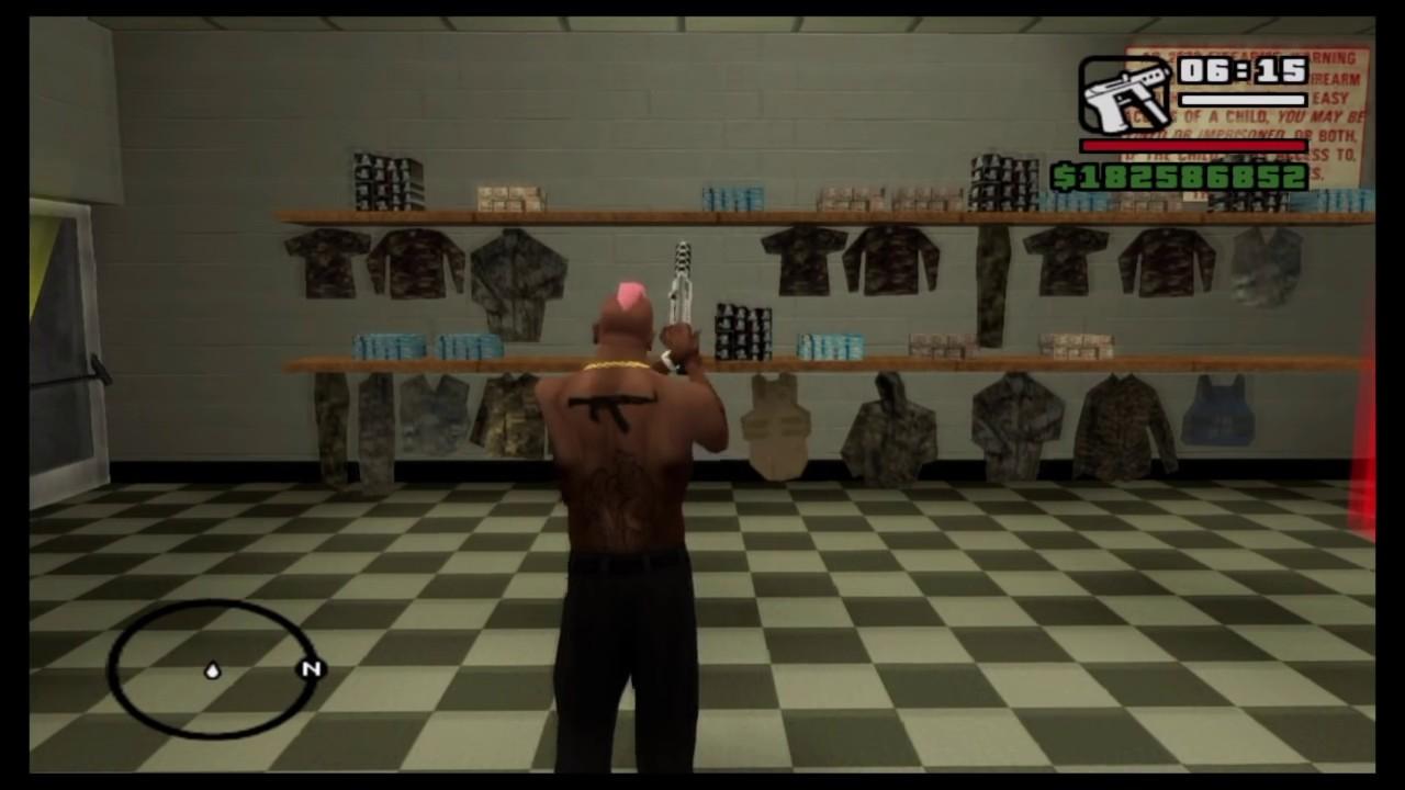 GTA: San Andreas PS4 - Infinite Ammo (No Cheat Codes)
