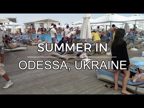 Summer in Odessa, Ukraine - Beaches and sights (July 2016)