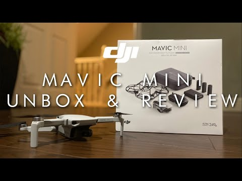 DJI Mavic Mini (FLY MORE COMBO) - Unboxing, Review & First Time Flight