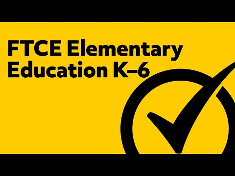 Free FTCE Elementary Education K 6 060 Study Guide