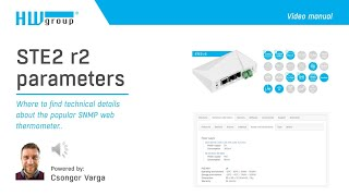 STE r2: Where to find technical details about this popular SNMP web thermometer?