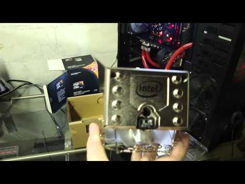 Intel Core I7 990x Extreme Edition 6 Core CPU - Unboxing & Overclock