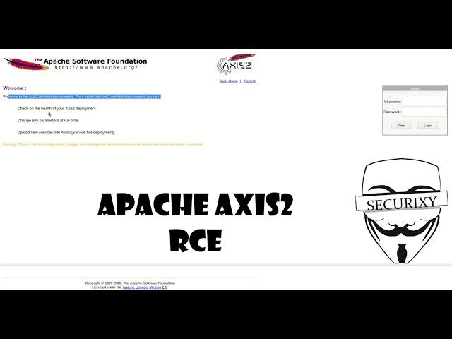 Эксплуатация CVE-2010-0219 Apache AXIS2 | Metasploitable 3