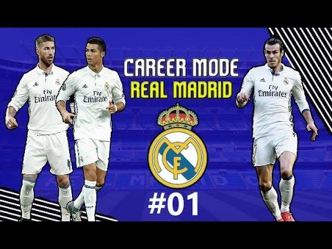 FIFA 17 CZ | Kariéra Za Real Madrid #1 | Přestupy 1.část