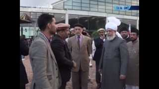 Inspection and Address to Volunteers of Jalsa Salana Germany 2013 by Khalifatul Masih V