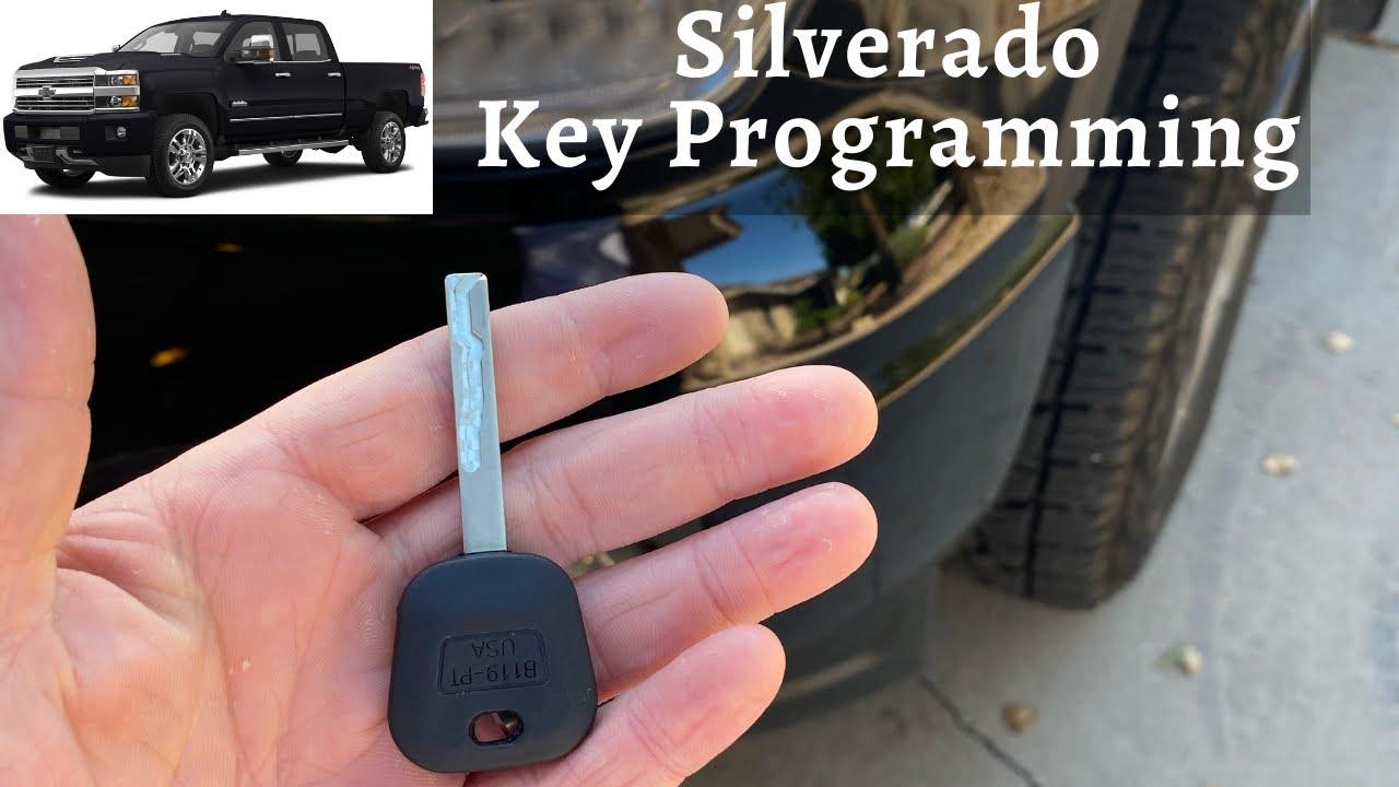 How To Program A Chevy Silverado Key 2007 2016 Diy Chevrolet