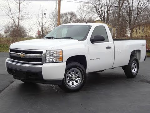 2007 chevy silverado 1500 ls reg cab long bed 4x4 sold youtube. Black Bedroom Furniture Sets. Home Design Ideas
