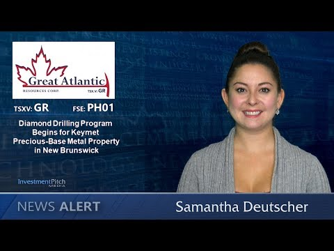 Great Atlantic (TSXV:GR) Started a Diamond Drilling Program at its Keymet Property
