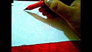How to Draw the Chilean Flag ( Chile ) Speed Drawing