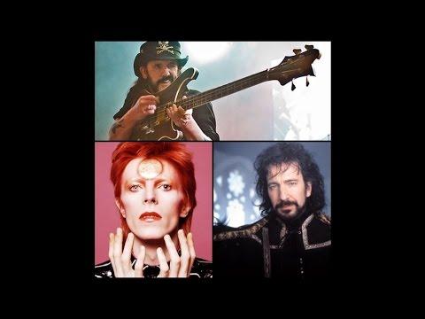 ScreamCast 89: Remembering Bowie, Lemmy, Rickman & More