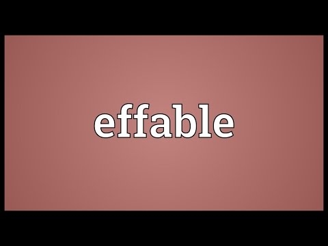 Header of effable