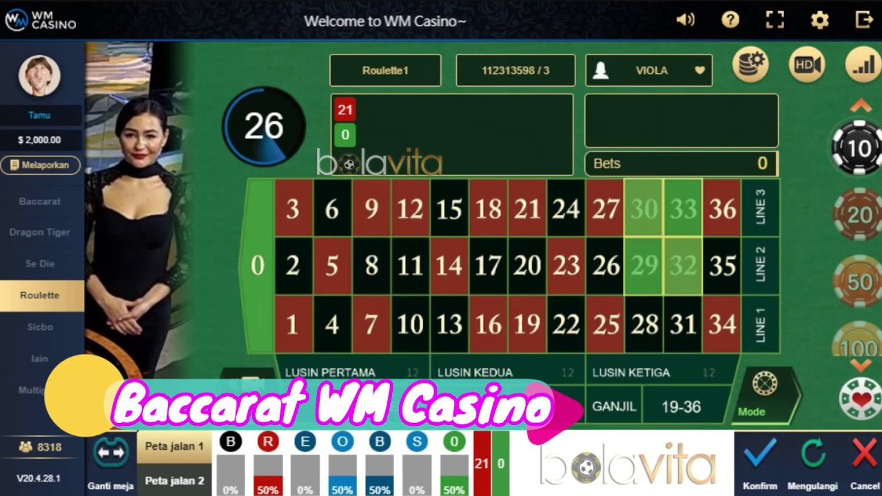 Wm Casino Bolavita Agen Baccarat Indonesia Terpercaya Youtube