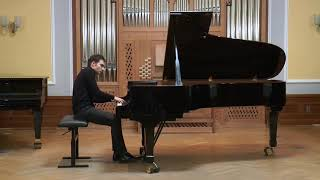 Asen Tanchev plays S. Prokofiev - Piano Sonata nr. 7 op. 83 in B-flat major, 3. Movement
