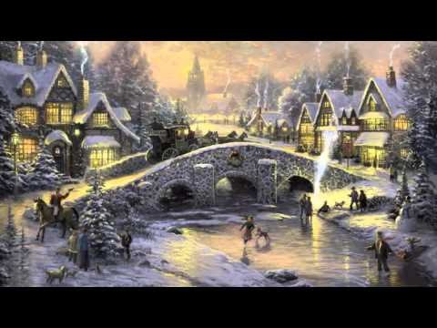 26 Popular Traditional Christmas Carols w  Festive Art  Thomas Kinkade