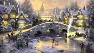 26 Popular Traditional Christmas Carols w  Festive Art by Thomas Kinkade