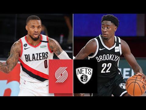 Portland Trail Blazers vs. Brooklyn Nets [FULL HIGHLIGHTS] | 2019-2020 NBA Highlights