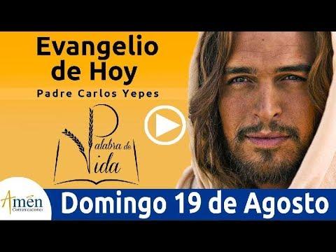 Evangelio de Hoy Domingo 19 de Agosto 2018 | Padre Carlos Yepes