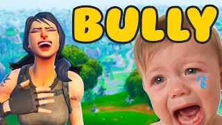 MAKING KIDS CRY IN PLAYGROUND MODE | Fortnite Battle Royale