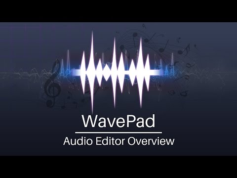 WavePad Audio Editor Tutorial | Overview