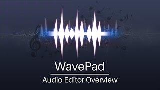 WavePad Audio Editor Tutorial | Overview screenshot 1
