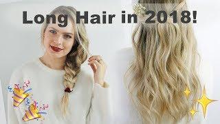 Resolutions for Growing Longer Stronger Hair in 2018 - KayleyMelissa