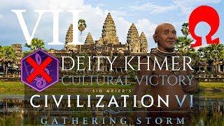 Omega Alden Plays Civilization 6 Gathering Storm - Khmer