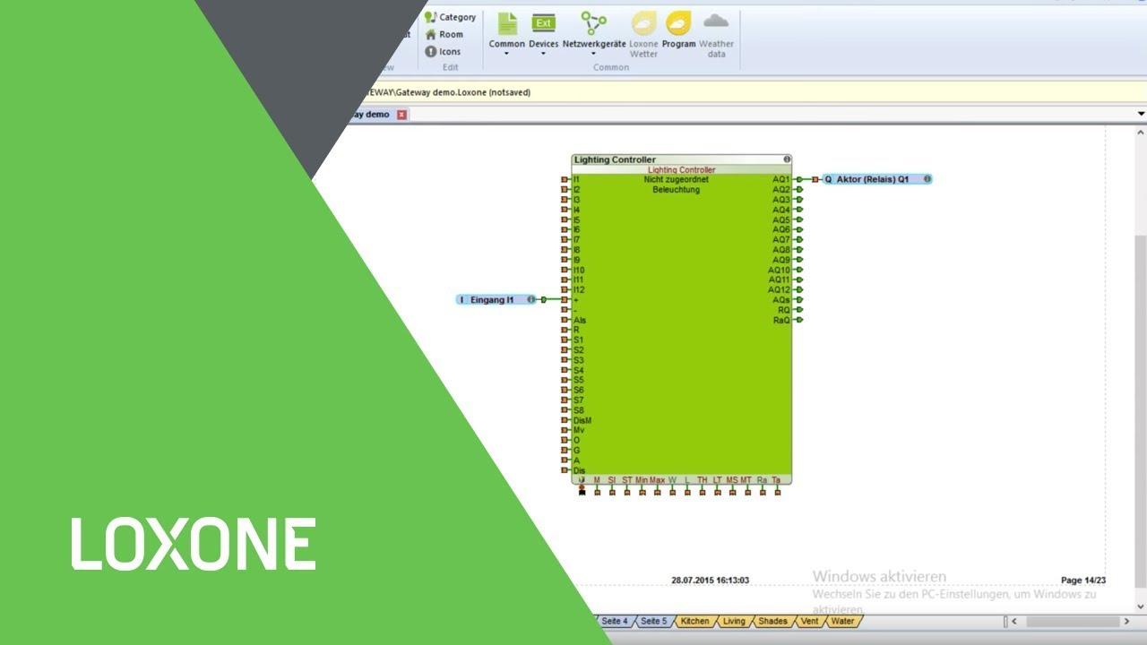 Loxone Config 7 Multi Miniserver Support Youtube