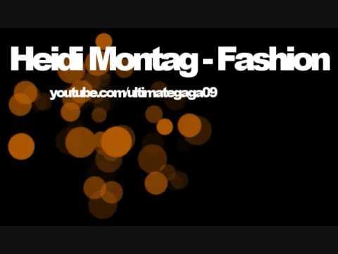 Heidi Montag - Fashion (HQ WITH LYRICS) W/Designer Names