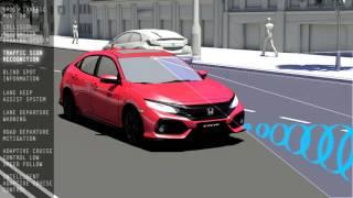 2017 Honda Civic - Honda Sensing