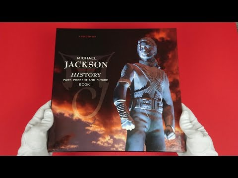 Michael Jackson - HIStory: Past, Present and Future, Book I (3xLP) 1995 Unboxing 4K | MJ Unboxing