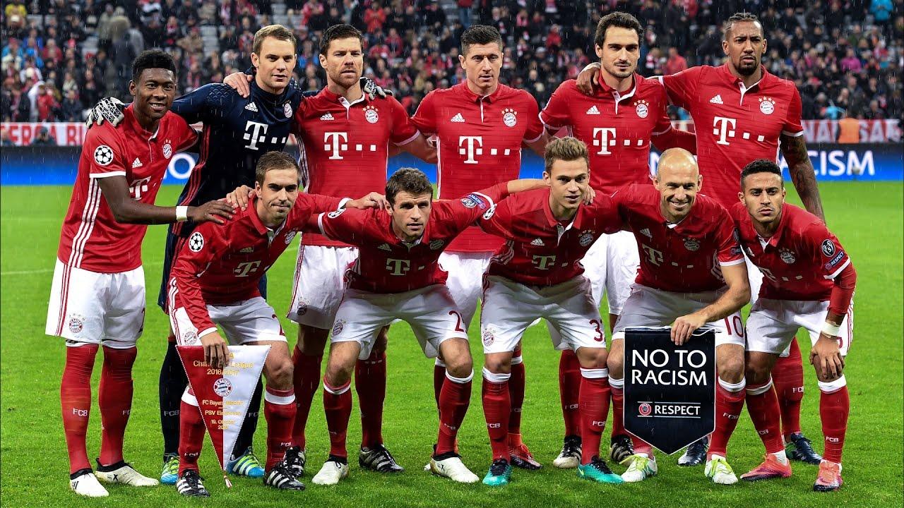 Die Gehaltsliste Von Bayern M U00fcnchen YouTube