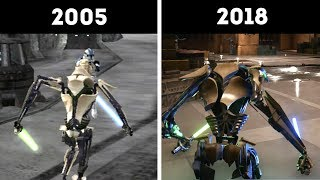 General Grievous 2005 vs 2018 Version (Old vs New!) - Star Wars Battlefront 2