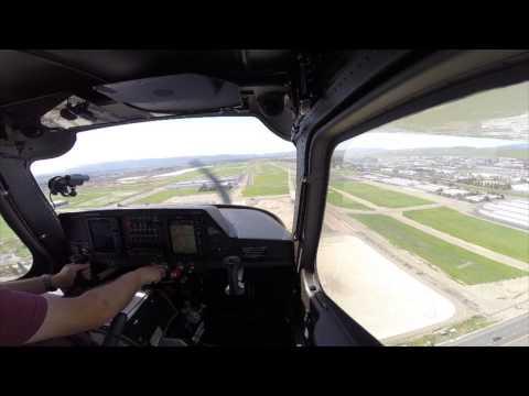 Flight from Palo Alto (KPAO) to Livermore (KLVK) and back via the coast in a Cessna Skycatcher 162