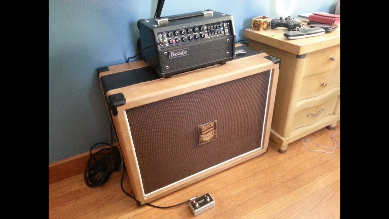 Custom Guitar Speaker Cabinets Black Market Custom 2x12 Cab Youtube