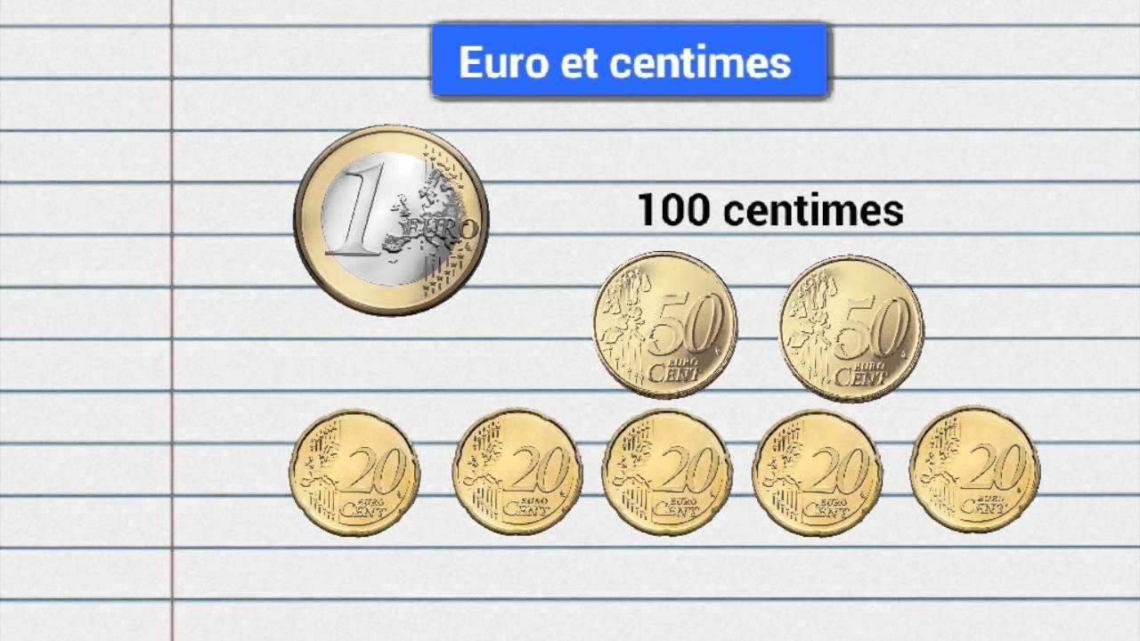convertir centimes en euros