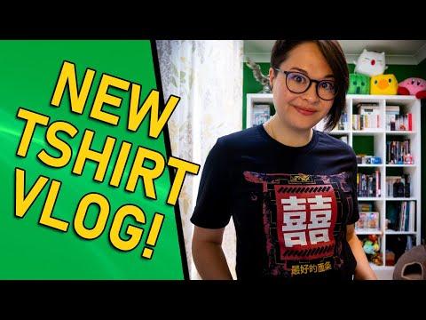 NEW T-Shirt! [VLOG]
