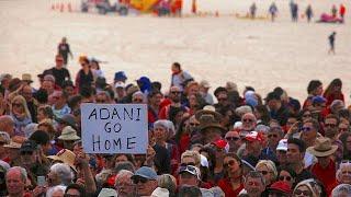 Australians protest against Adani mine
